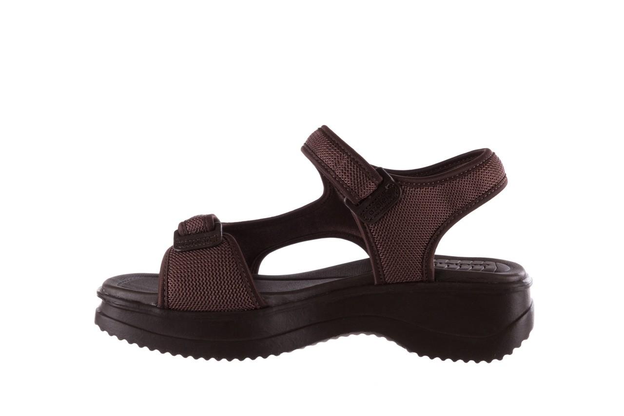 Sandały azaleia 320 323 brown 19, brąz, materiał 9