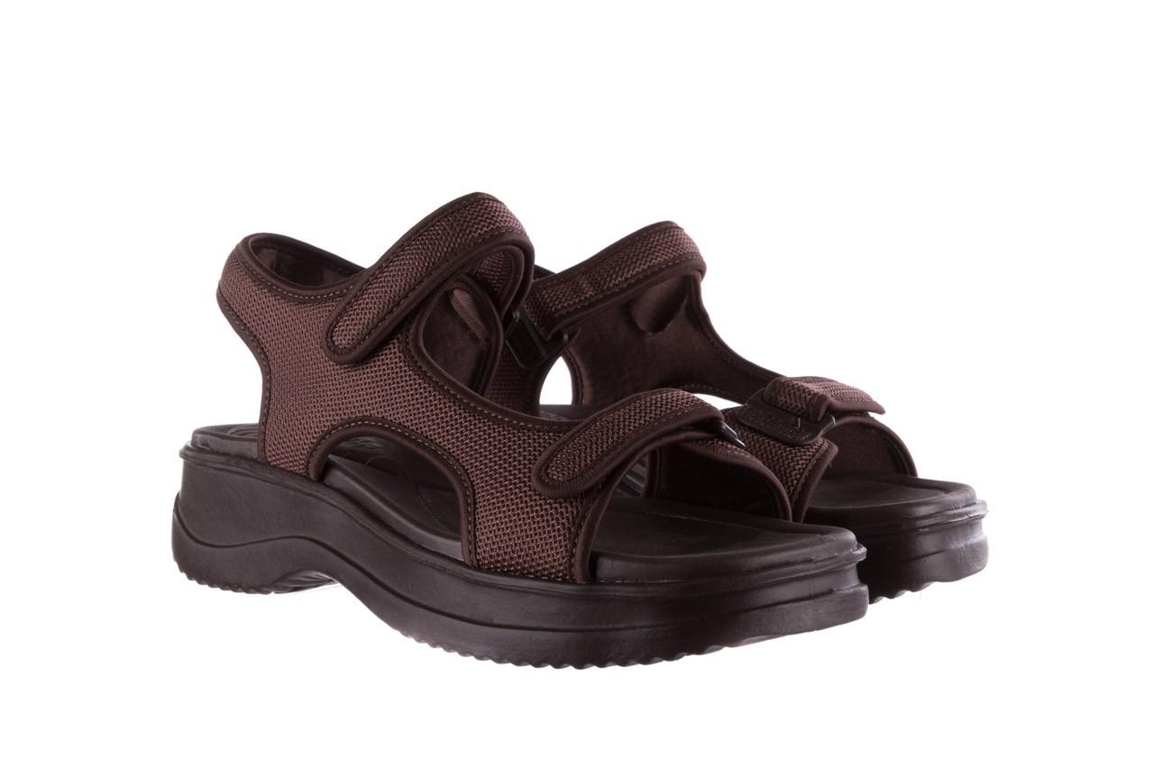 Sandały azaleia 320 323 brown 19, brąz, materiał 8
