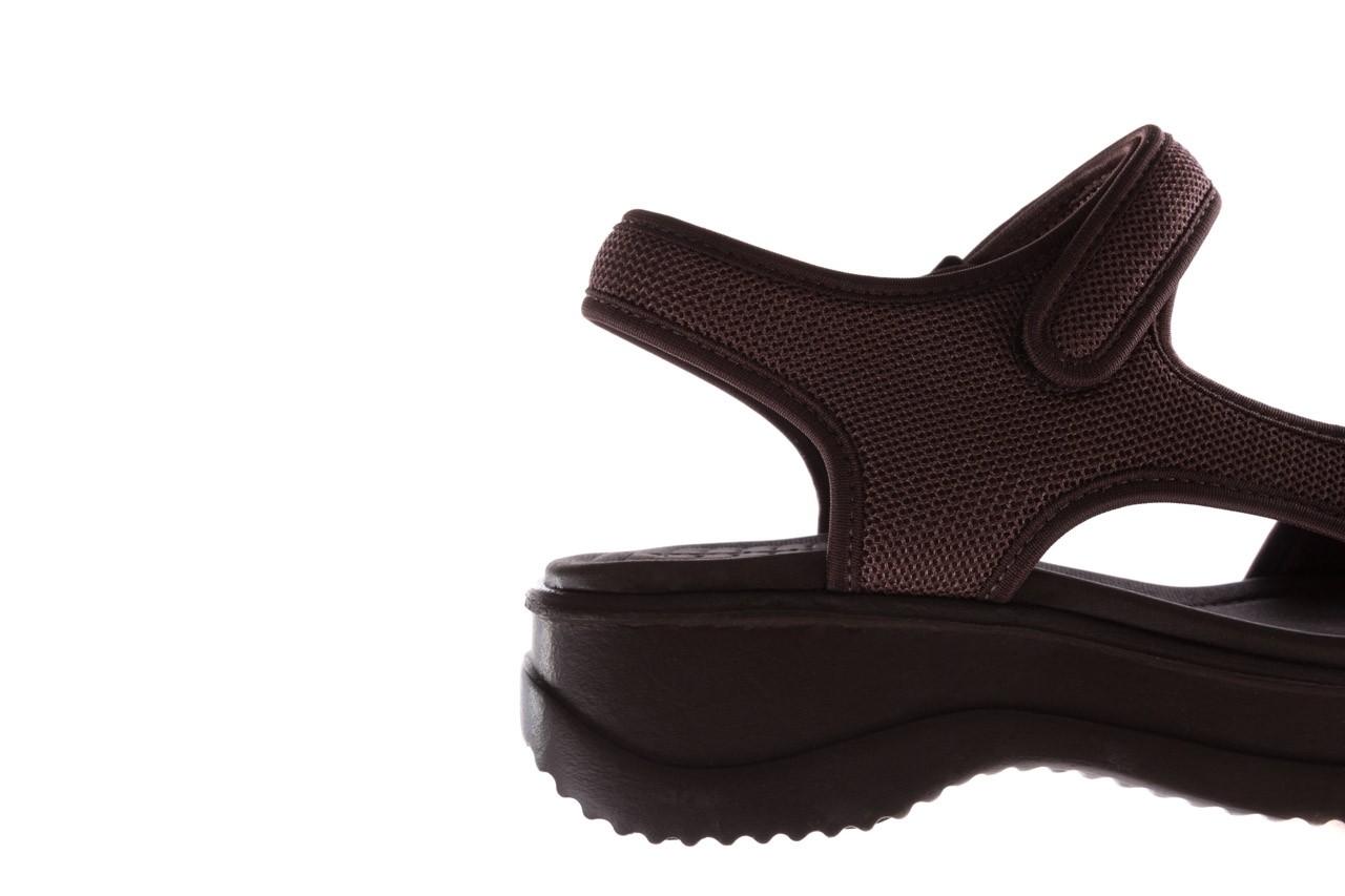 Sandały azaleia 320 323 brown 19, brąz, materiał 13