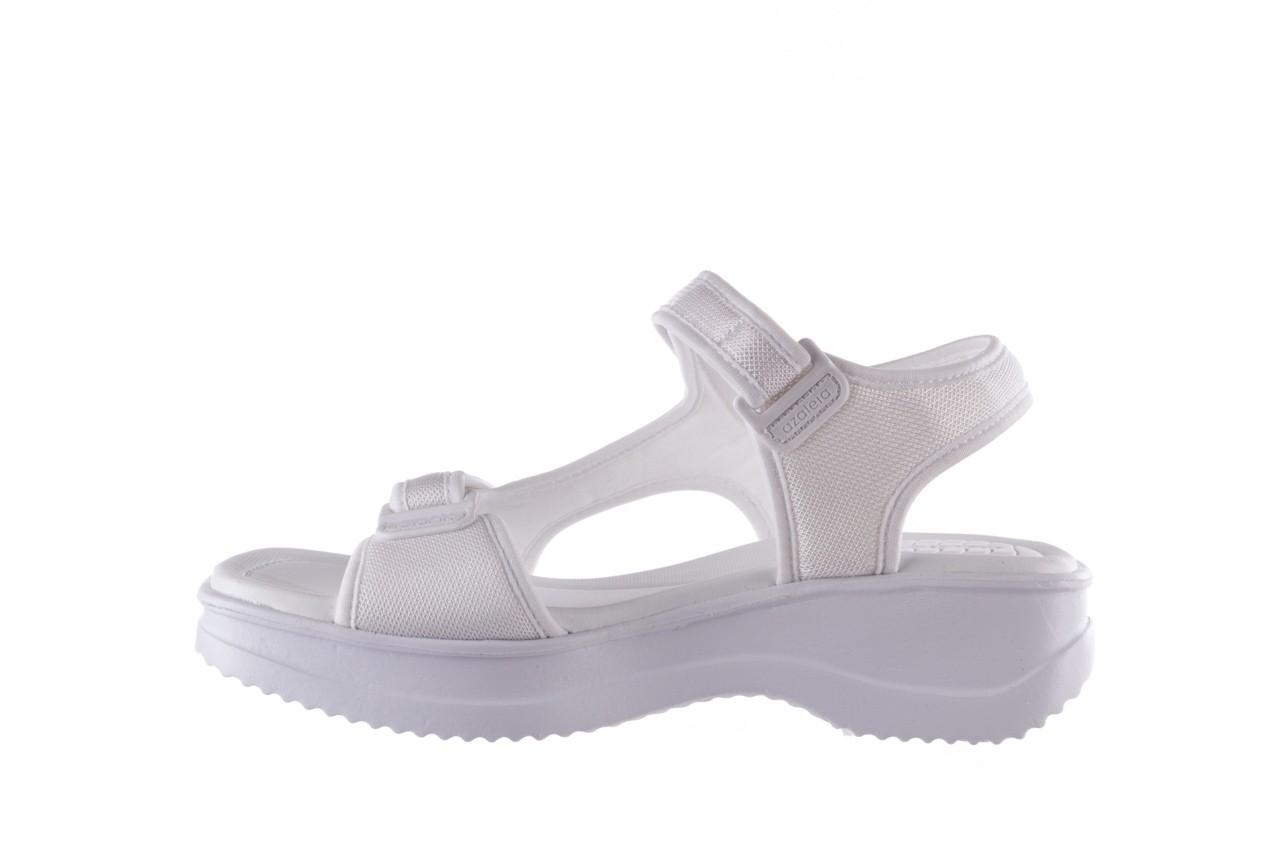 Sandały azaleia 320 323 white 19,biały, materiał - azaleia - nasze marki 9