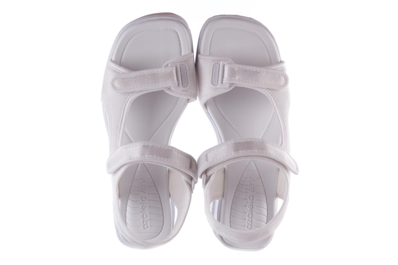 Sandały azaleia 320 323 white 19,biały, materiał - azaleia - nasze marki 11