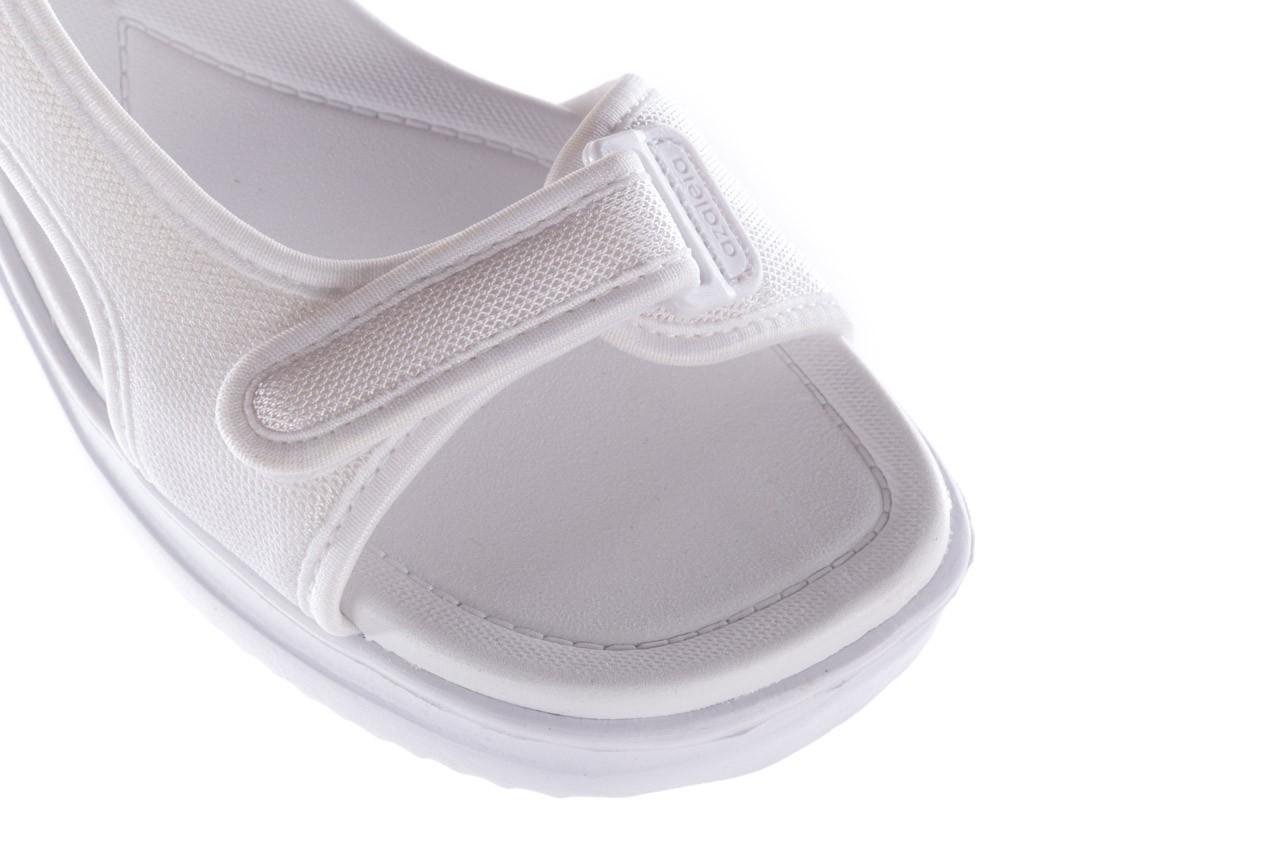 Sandały azaleia 320 323 white 19,biały, materiał - azaleia - nasze marki 12