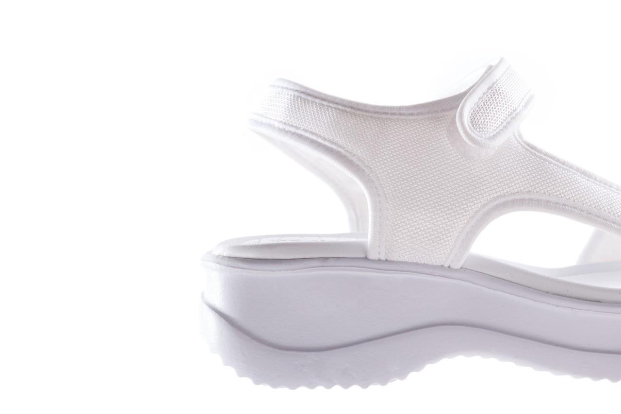 Sandały azaleia 320 323 white 19,biały, materiał - azaleia - nasze marki 13