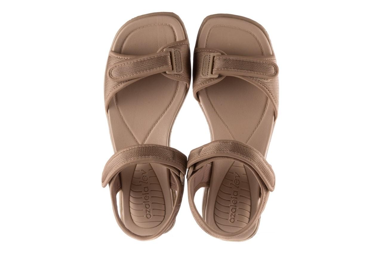 Sandały azaleia 320 321 beige sand 20, beż, materiał - sandały - buty damskie - kobieta 11