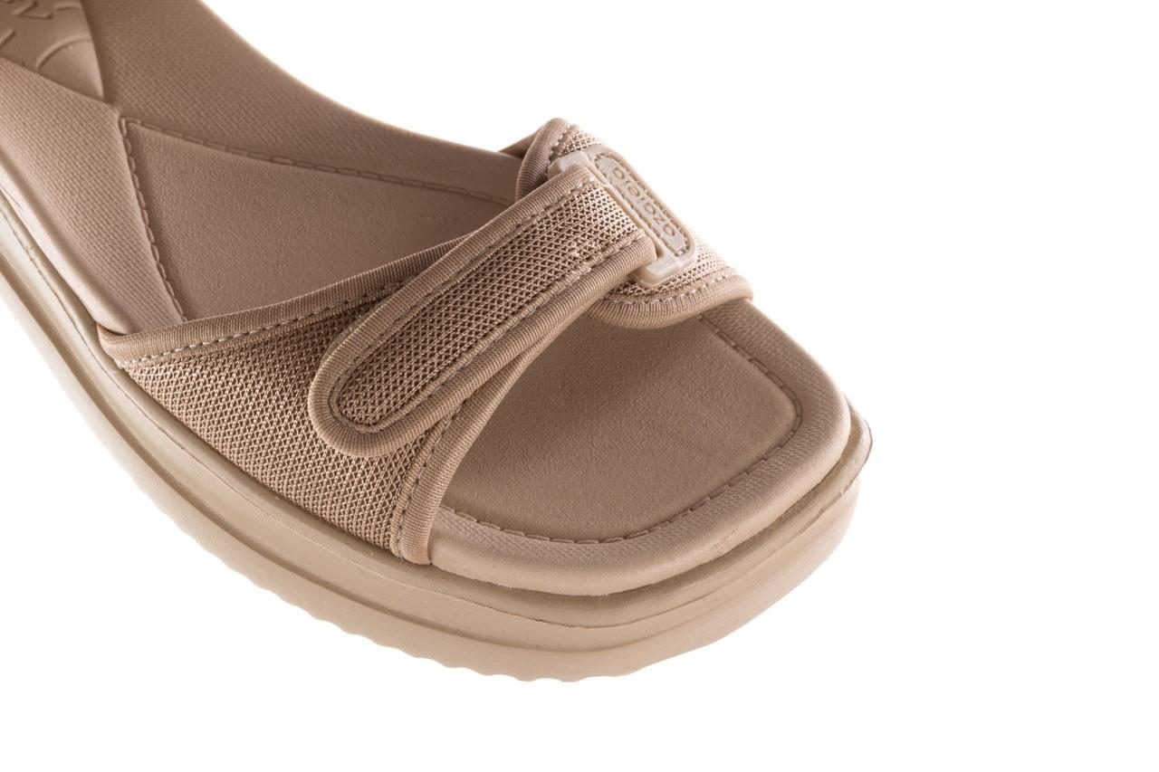 Sandały azaleia 320 321 beige sand 20, beż, materiał - sale 12