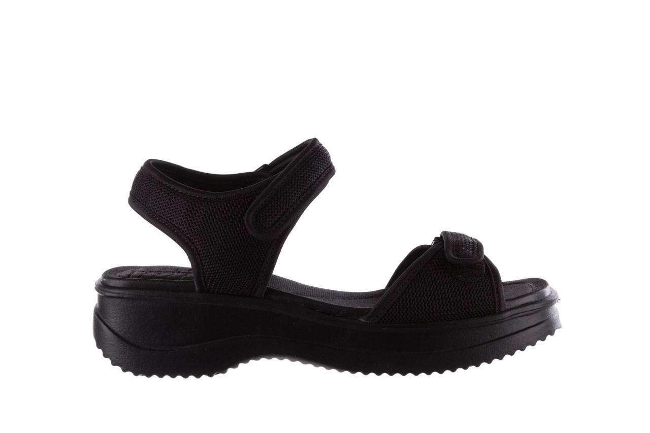 Sandały azaleia 320 321 black 19, czarny, materiał - azaleia - nasze marki 7