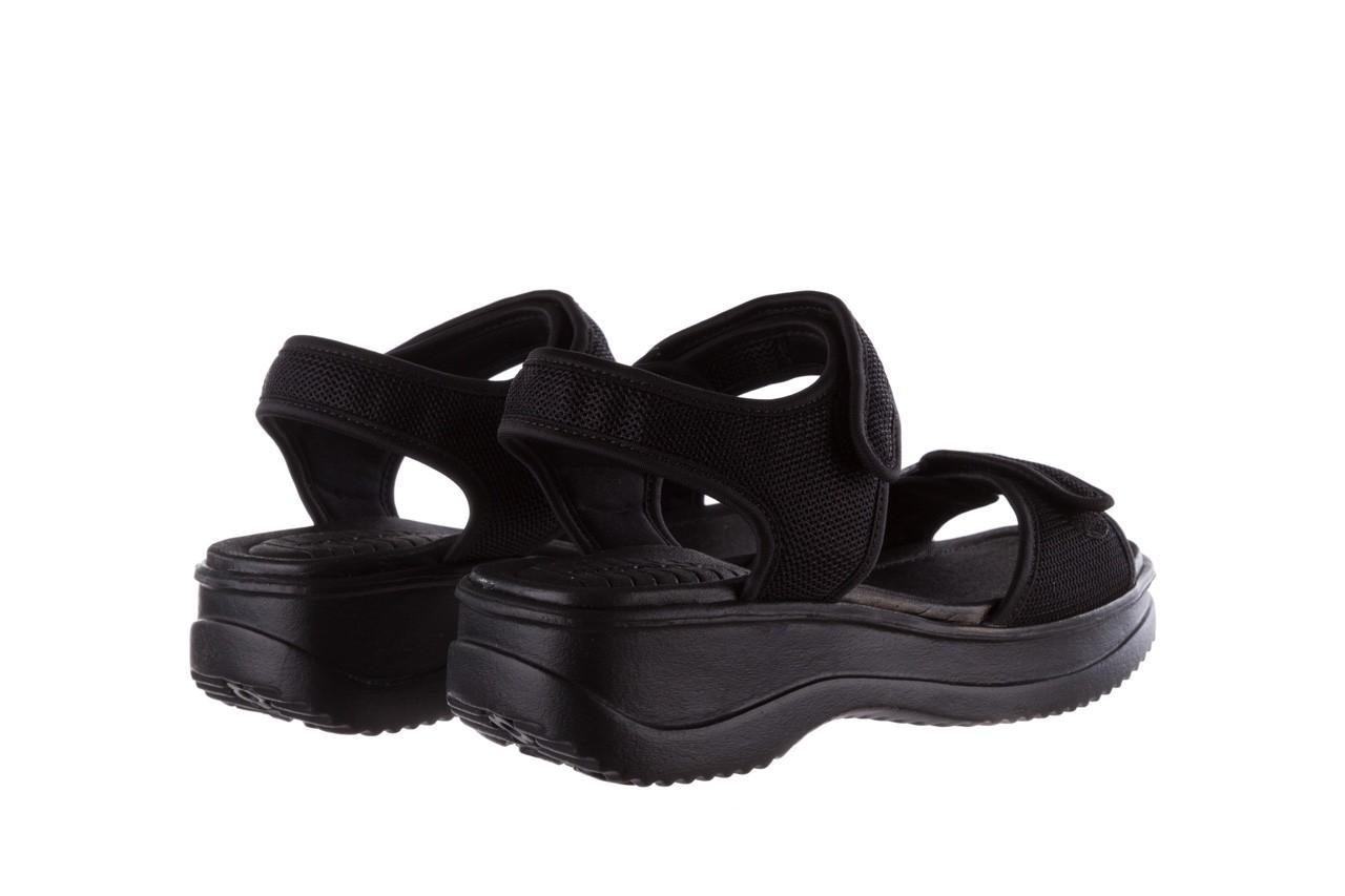 Sandały azaleia 320 321 black 19, czarny, materiał - azaleia - nasze marki 10