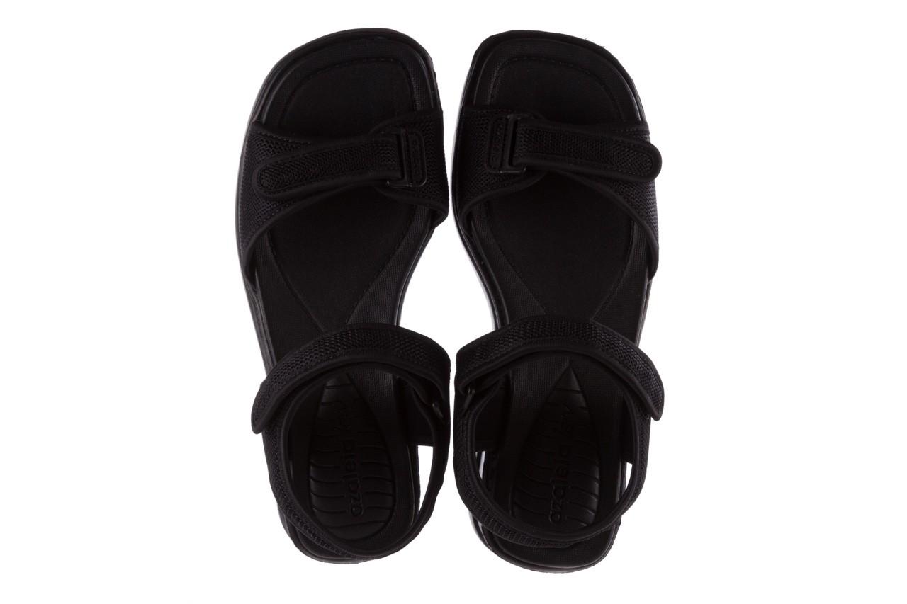 Sandały azaleia 320 321 black 19, czarny, materiał - azaleia - nasze marki 11