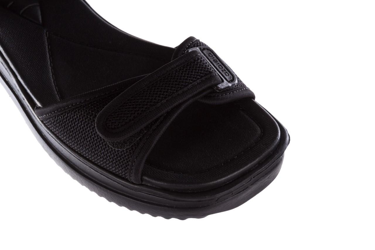 Sandały azaleia 320 321 black 19, czarny, materiał - azaleia - nasze marki 12