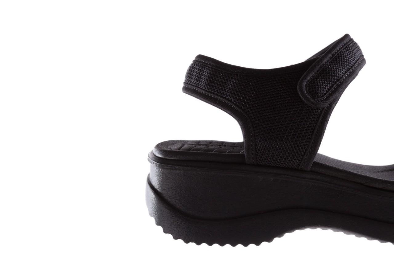 Sandały azaleia 320 321 black 19, czarny, materiał - azaleia - nasze marki 13