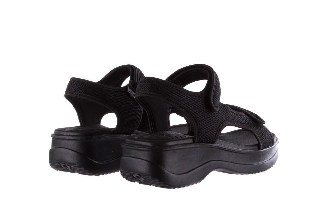 Sandały azaleia 320 323 black 19, czarny,  materiał - azaleia - nasze marki 10