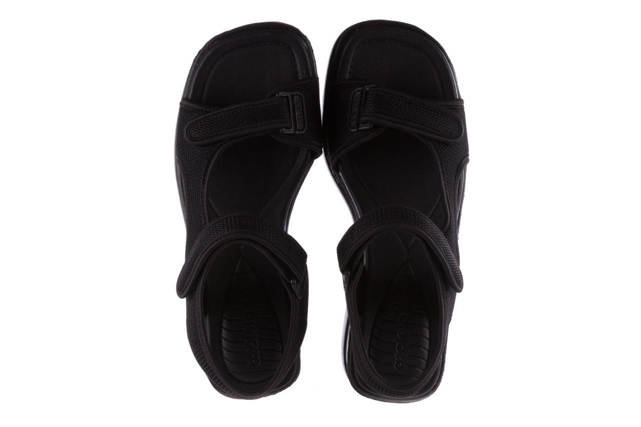 Sandały azaleia 320 323 black 19, czarny,  materiał - azaleia - nasze marki 11