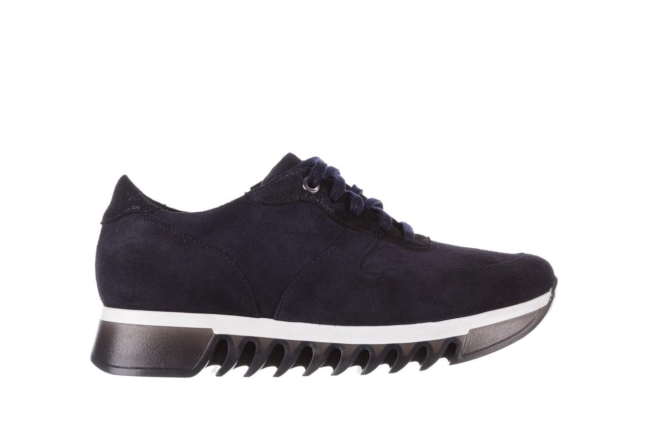 Sneakersy bayla-185 185 106 granat, skóra naturalna  - sneakersy - buty damskie - kobieta 8