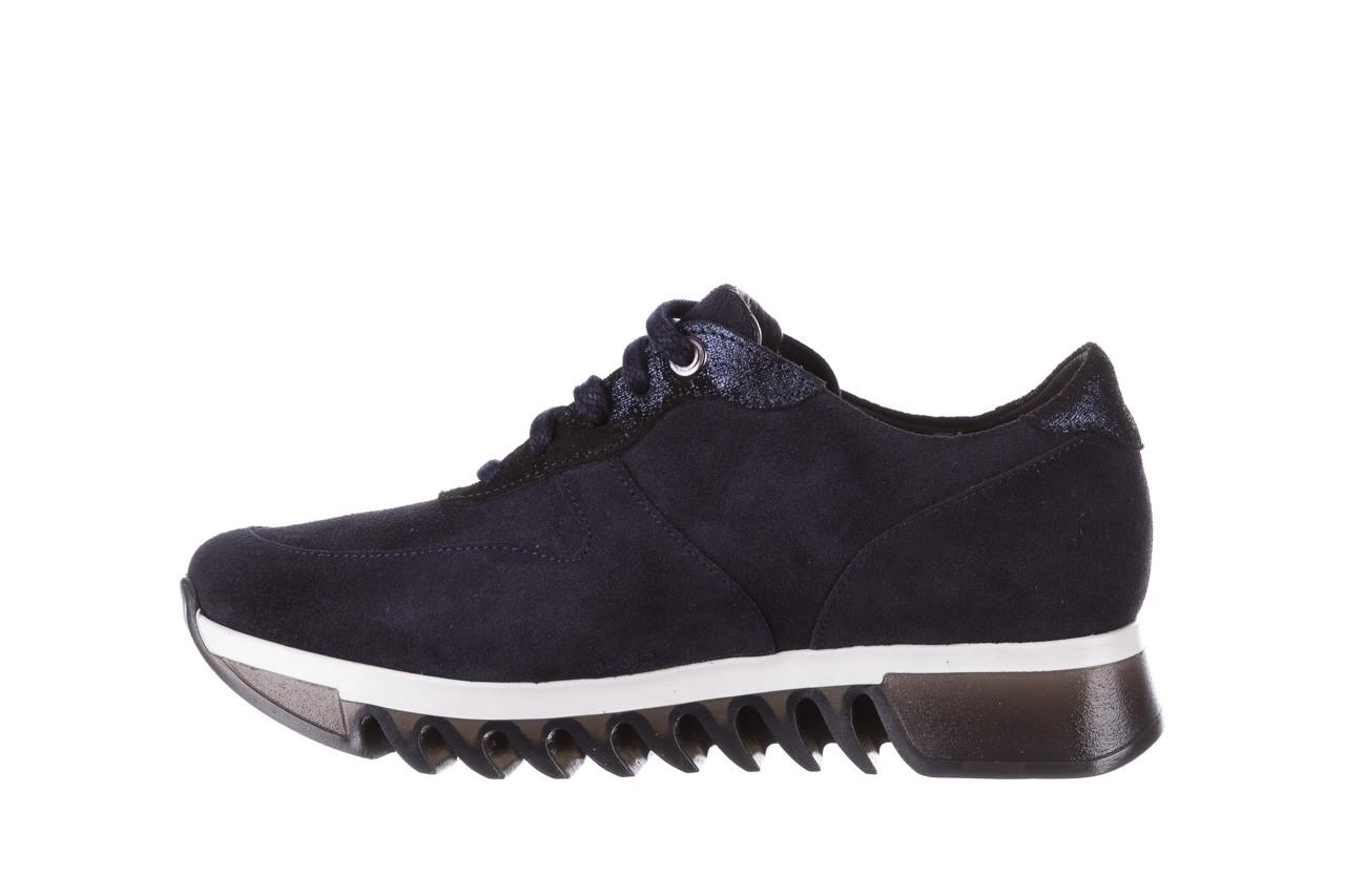 Sneakersy bayla-185 185 106 granat, skóra naturalna  - sneakersy - buty damskie - kobieta 10