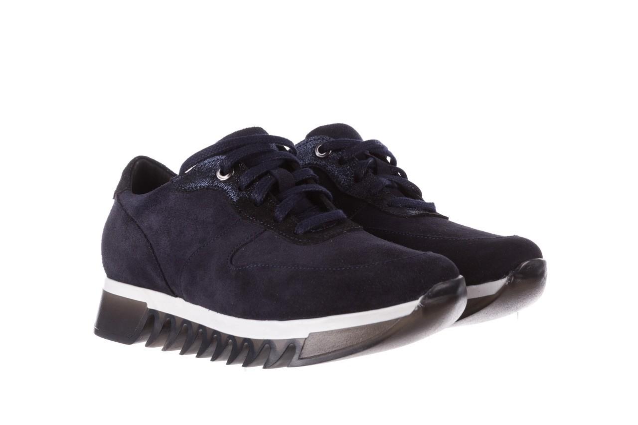 Sneakersy bayla-185 185 106 granat, skóra naturalna  - bayla - nasze marki 9