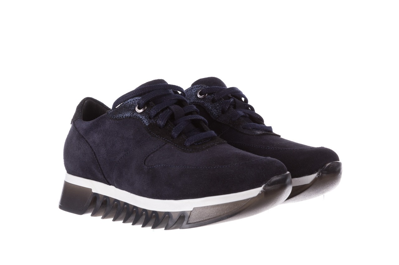 Sneakersy bayla-185 185 106 granat, skóra naturalna  - sneakersy - buty damskie - kobieta 9