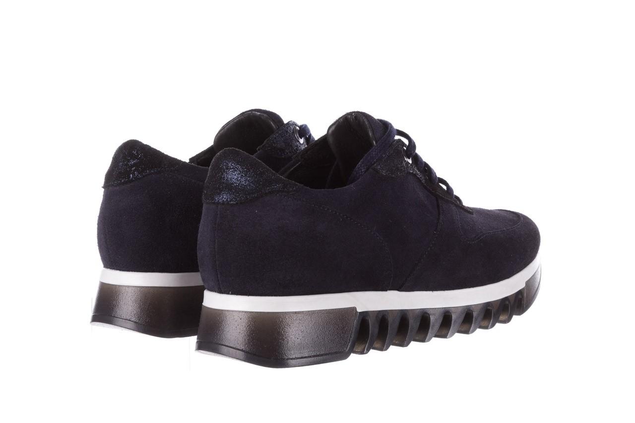 Sneakersy bayla-185 185 106 granat, skóra naturalna  - sneakersy - buty damskie - kobieta 11