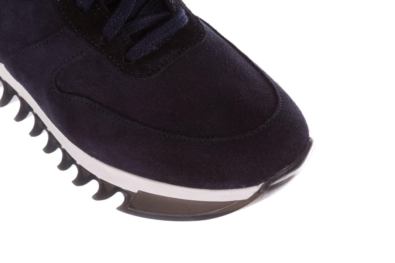 Sneakersy bayla-185 185 106 granat, skóra naturalna  - sneakersy - buty damskie - kobieta 13