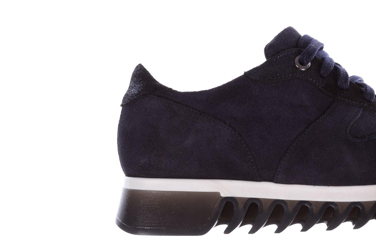 Sneakersy bayla-185 185 106 granat, skóra naturalna  - sneakersy - buty damskie - kobieta 14
