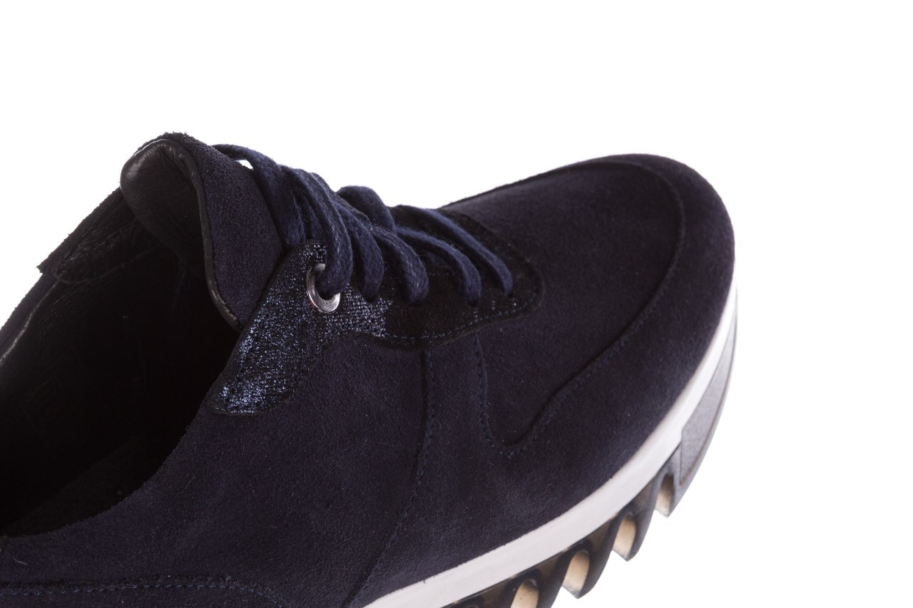 Sneakersy bayla-185 185 106 granat, skóra naturalna  - sneakersy - buty damskie - kobieta 15