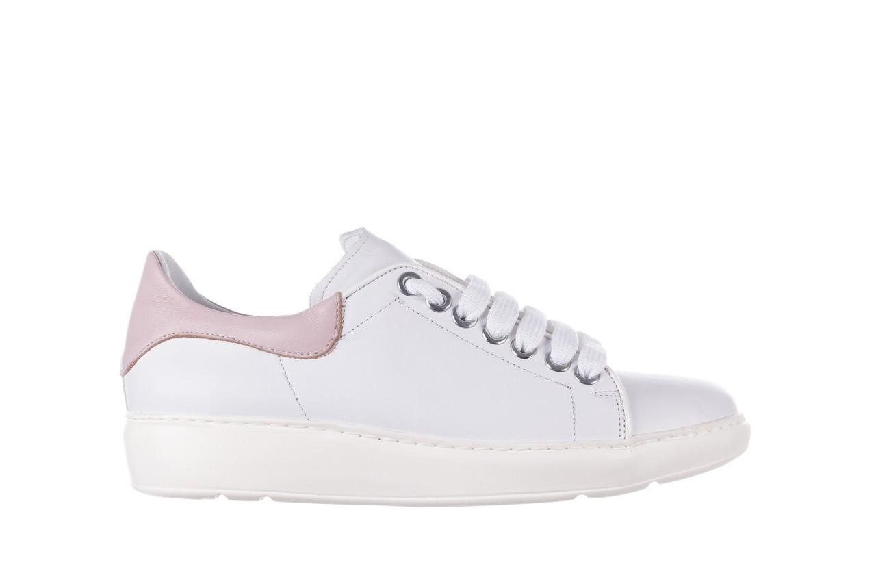 Trampki bayla-185 185 101 biały, skóra naturalna  - niskie - trampki - buty damskie - kobieta 7
