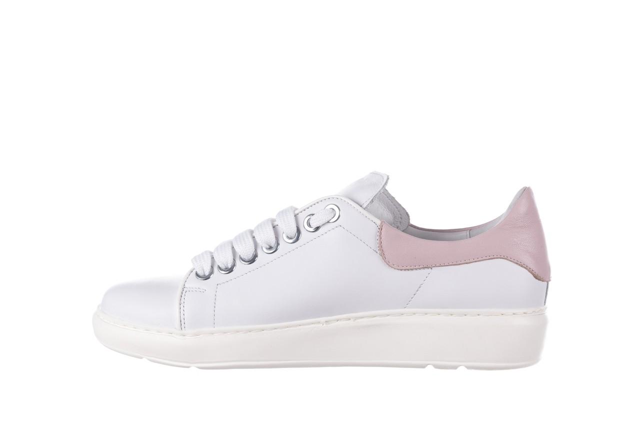 Trampki bayla-185 185 101 biały, skóra naturalna  - niskie - trampki - buty damskie - kobieta 9