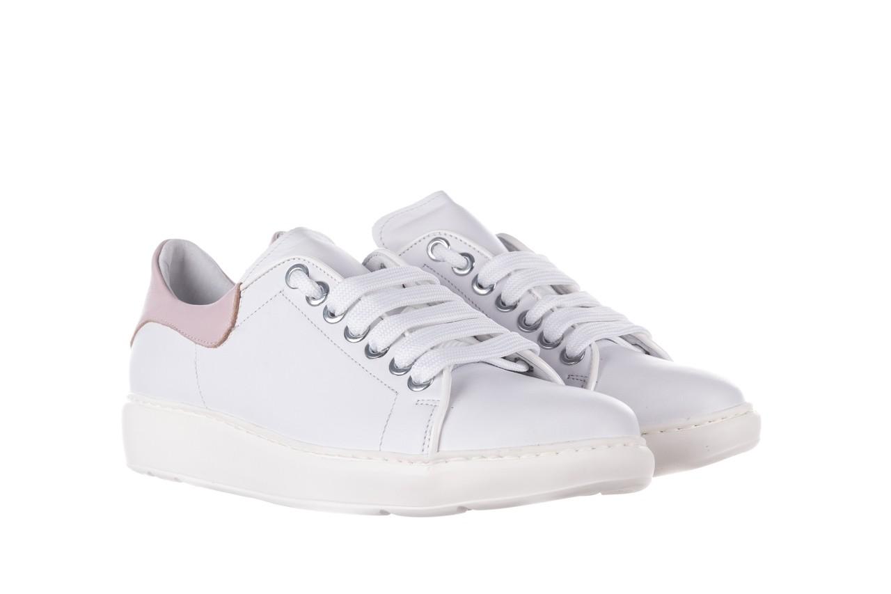 Trampki bayla-185 185 101 biały, skóra naturalna  - niskie - trampki - buty damskie - kobieta 8