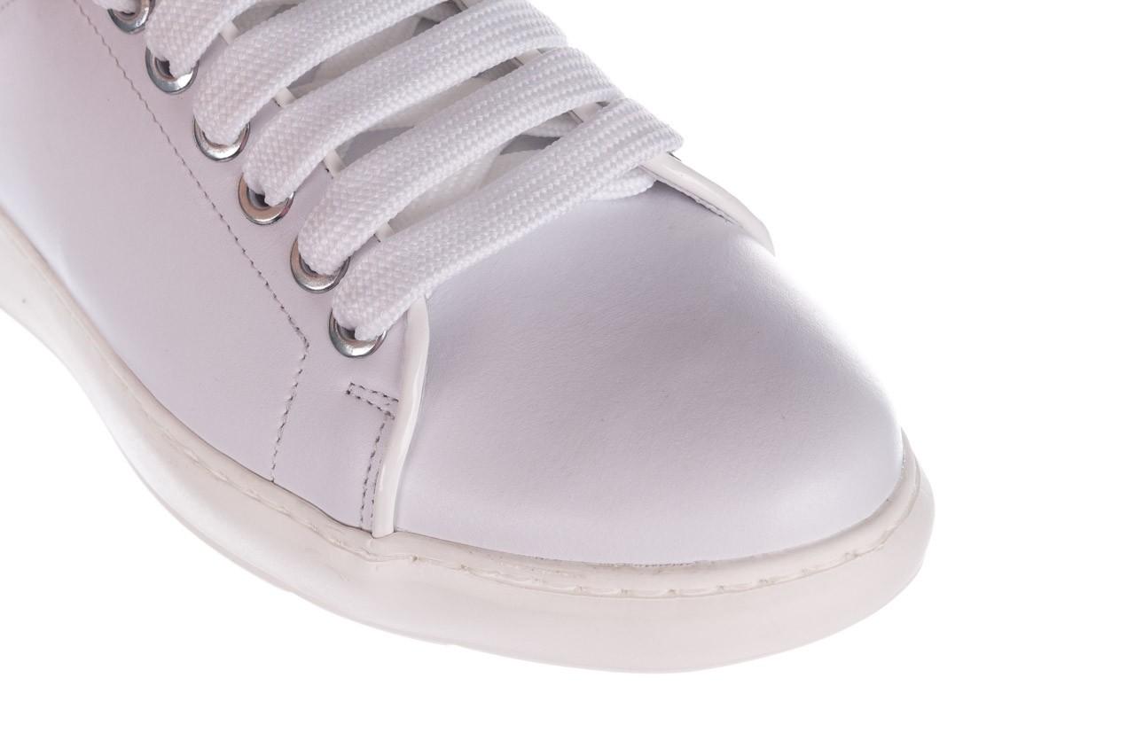 Trampki bayla-185 185 101 biały, skóra naturalna  - niskie - trampki - buty damskie - kobieta 12