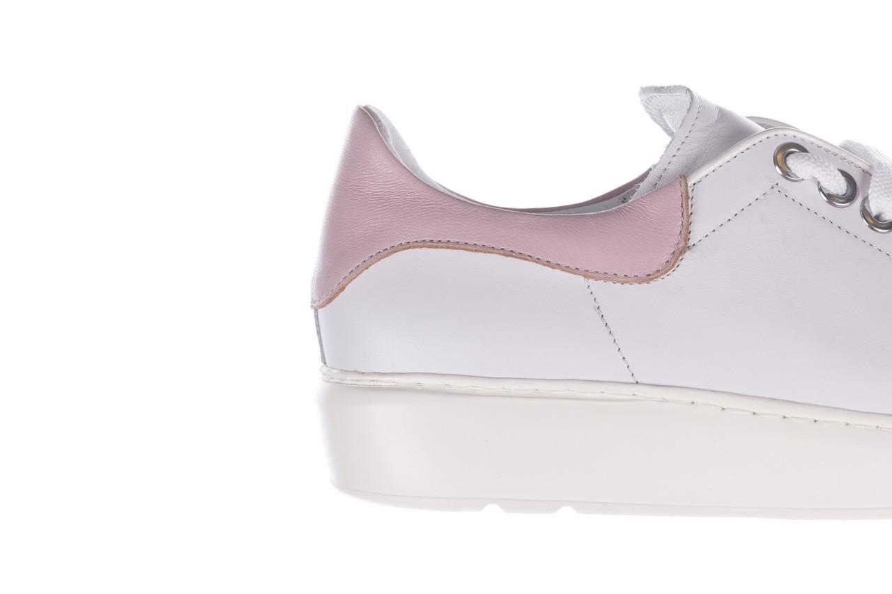 Trampki bayla-185 185 101 biały, skóra naturalna  - niskie - trampki - buty damskie - kobieta 13