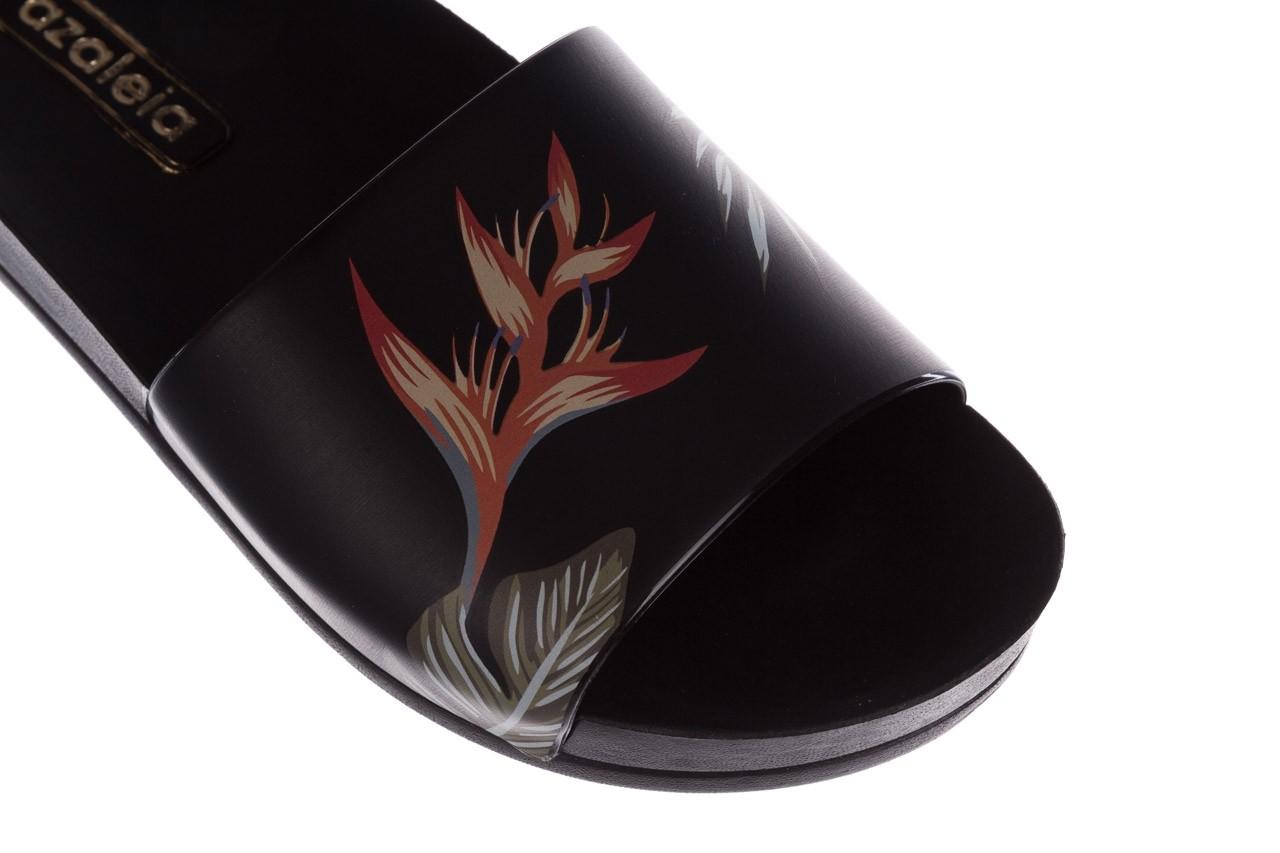 Klapki azaleia 290 196 black-orange, czarny, guma - azaleia - nasze marki 12