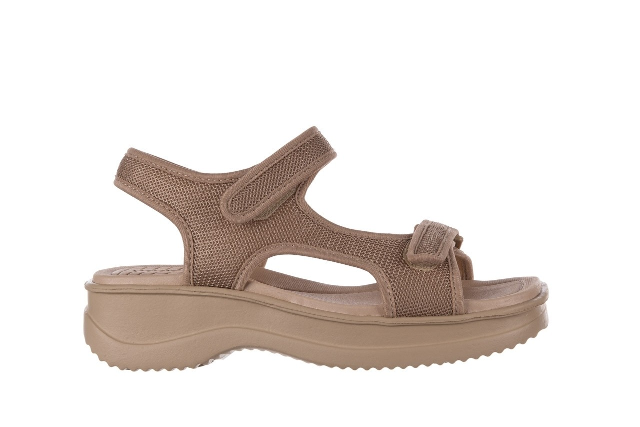 Sandały azaleia 320 323 beige sand 20, beż, materiał - sandały - buty damskie - kobieta 7
