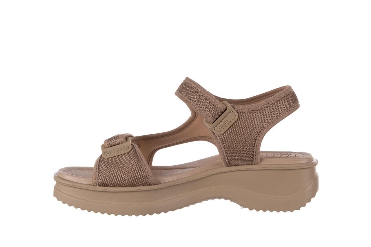 Sandały azaleia 320 323 beige sand 20, beż, materiał - sandały - buty damskie - kobieta 9