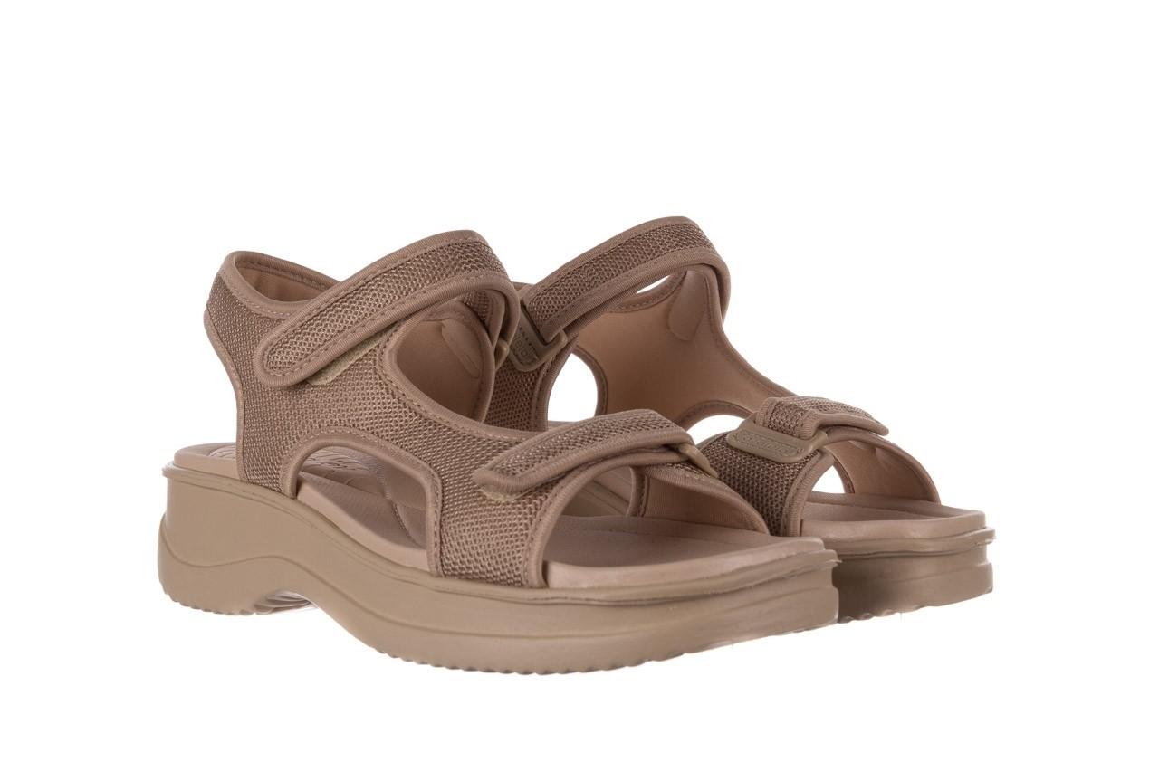 Sandały azaleia 320 323 beige sand 20, beż, materiał - sandały - buty damskie - kobieta 8