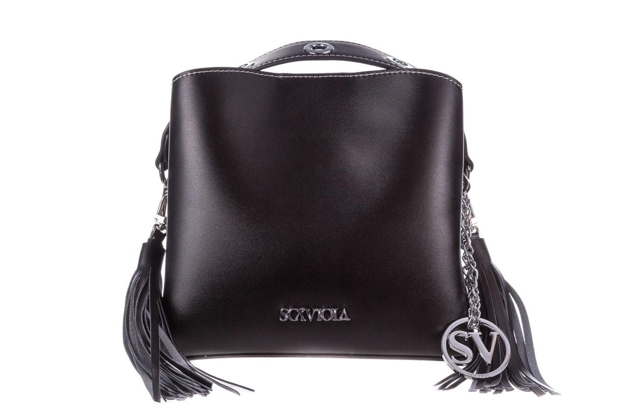 Torebka sca'viola torebka t-26 black, czarny, skóra ekologiczna  - sca`viola - nasze marki 3
