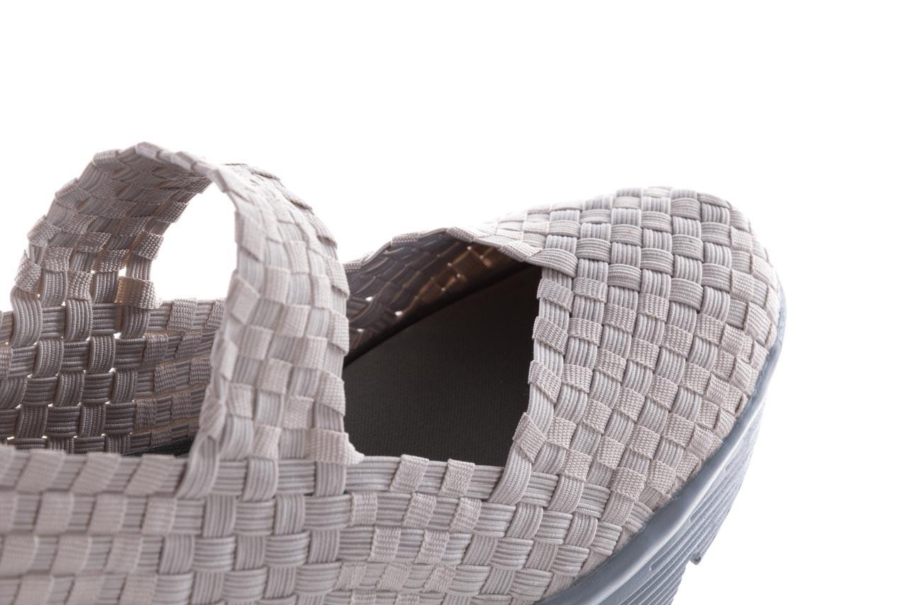 Półbuty rock brasil lt grey-leather counter, szary, materiał - rock - nasze marki 13