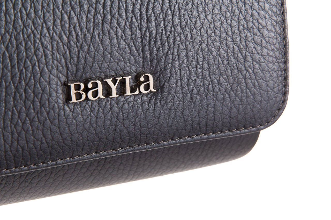 Torebka bayla-165 torebka camilla szara, skóra naturalna  - bayla - nasze marki 8