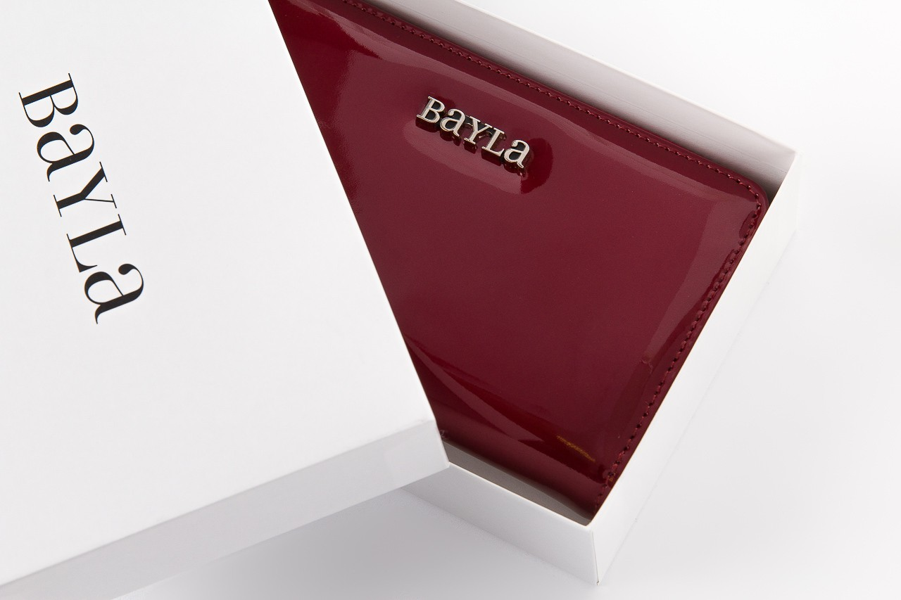 Bayla-165 portfel revel bordowy - akcesoria - kobieta - halloween do -30% 5