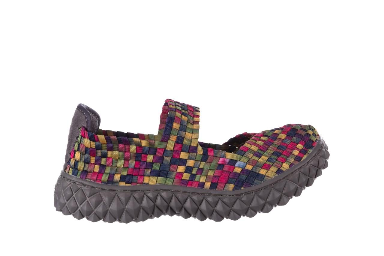Półbuty rock over fuchsia purple yellow smoke, wielokolorowy, materiał  - obuwie sportowe - buty damskie - kobieta 7