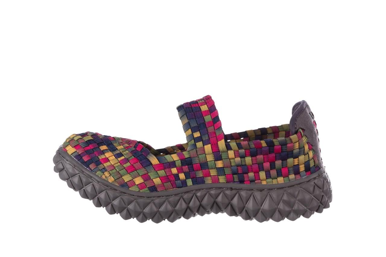 Półbuty rock over fuchsia purple yellow smoke, wielokolorowy, materiał  - obuwie sportowe - buty damskie - kobieta 9