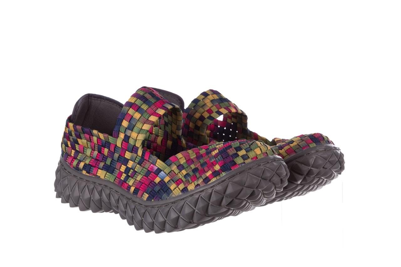 Półbuty rock over fuchsia purple yellow smoke, wielokolorowy, materiał  - obuwie sportowe - buty damskie - kobieta 8