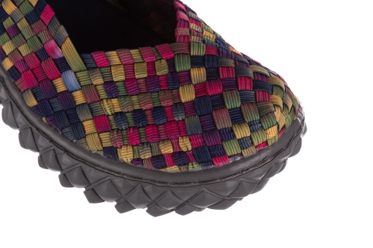 Półbuty rock over fuchsia purple yellow smoke, wielokolorowy, materiał  - obuwie sportowe - buty damskie - kobieta 13