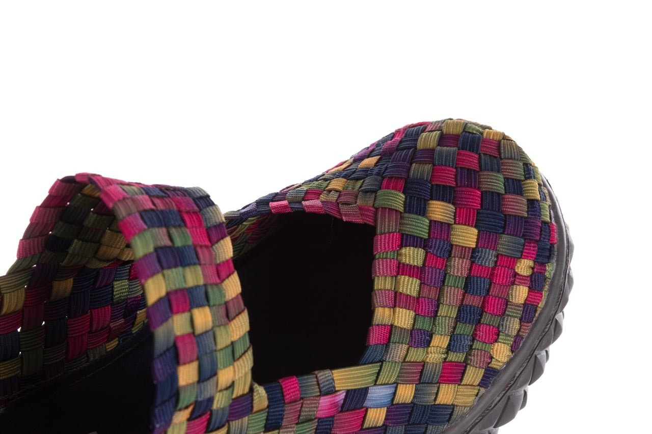 Półbuty rock over fuchsia purple yellow smoke, wielokolorowy, materiał  - obuwie sportowe - buty damskie - kobieta 12