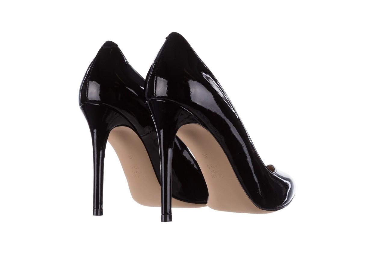 Szpilki bayla-182 17105 czarny lakier, skóra naturalna lakierowana  - do szpica - szpilki - buty damskie - kobieta 9