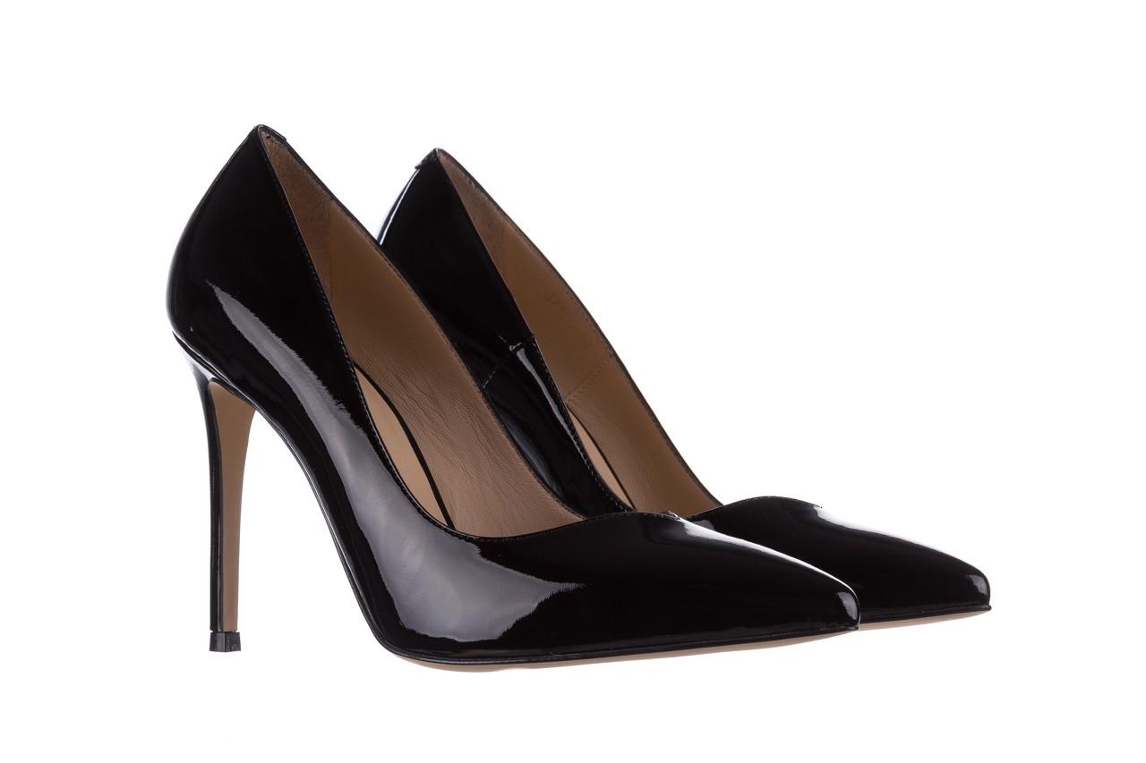 Szpilki bayla-182 17105 czarny lakier, skóra naturalna lakierowana  - do szpica - szpilki - buty damskie - kobieta 7