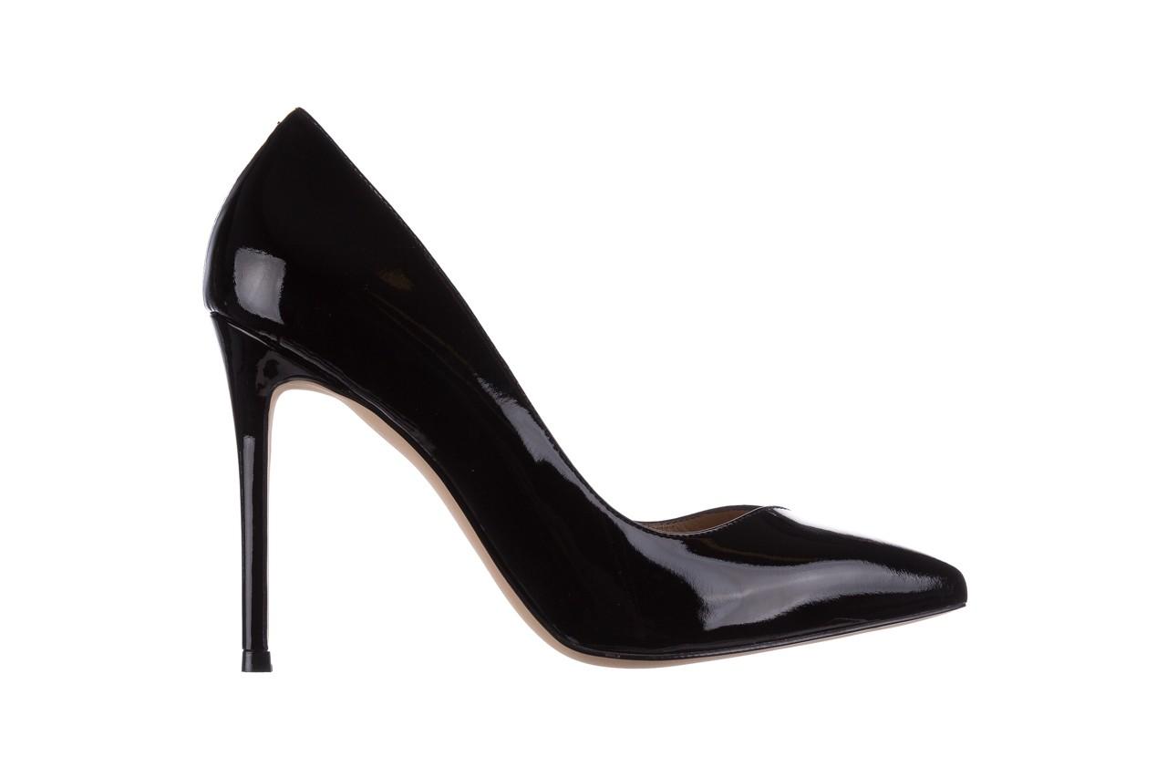 Szpilki bayla-182 17105 czarny lakier, skóra naturalna lakierowana  - do szpica - szpilki - buty damskie - kobieta 6