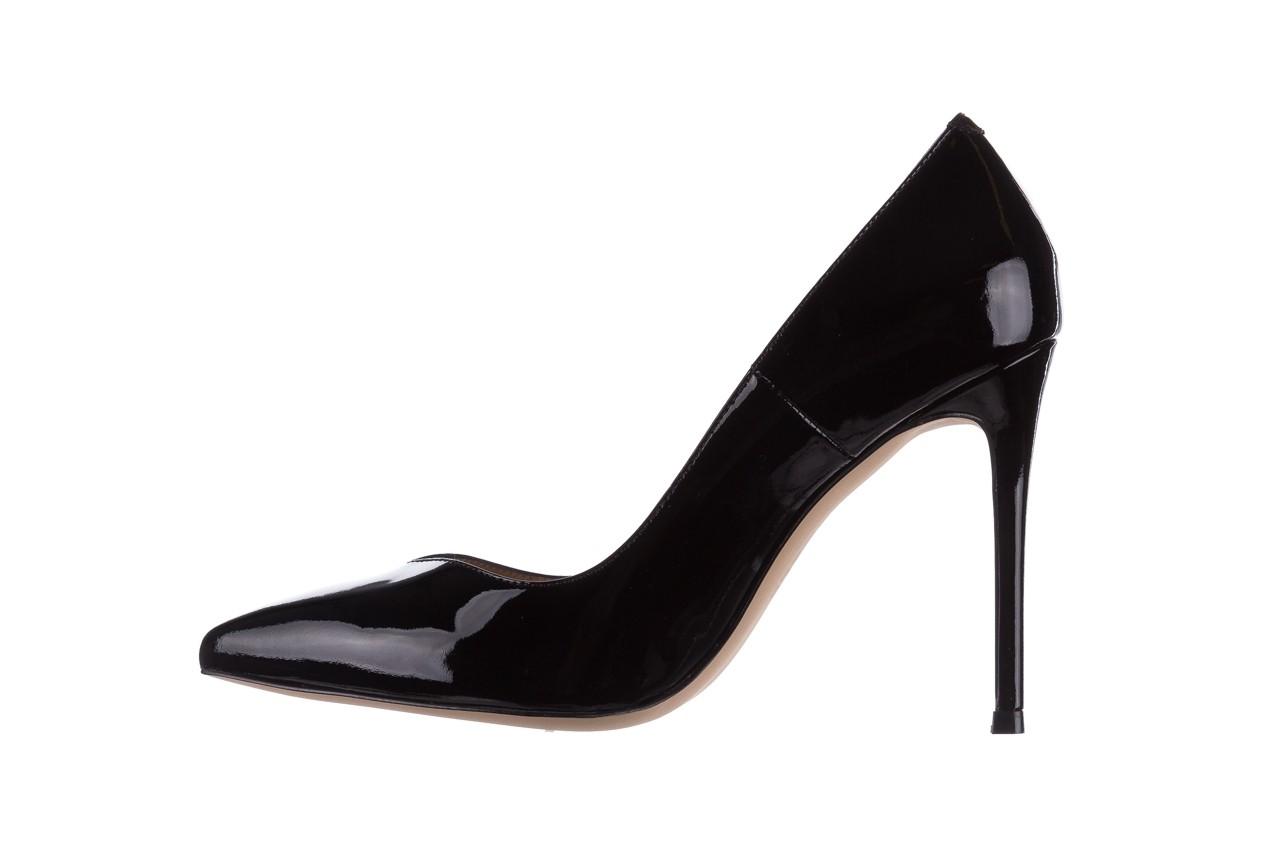Szpilki bayla-182 17105 czarny lakier, skóra naturalna lakierowana  - do szpica - szpilki - buty damskie - kobieta 8