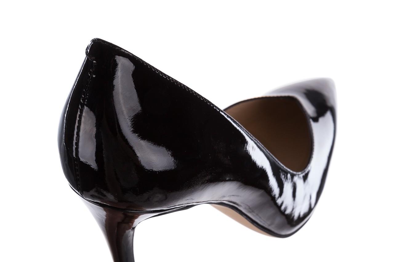 Szpilki bayla-182 17105 czarny lakier, skóra naturalna lakierowana  - do szpica - szpilki - buty damskie - kobieta 11