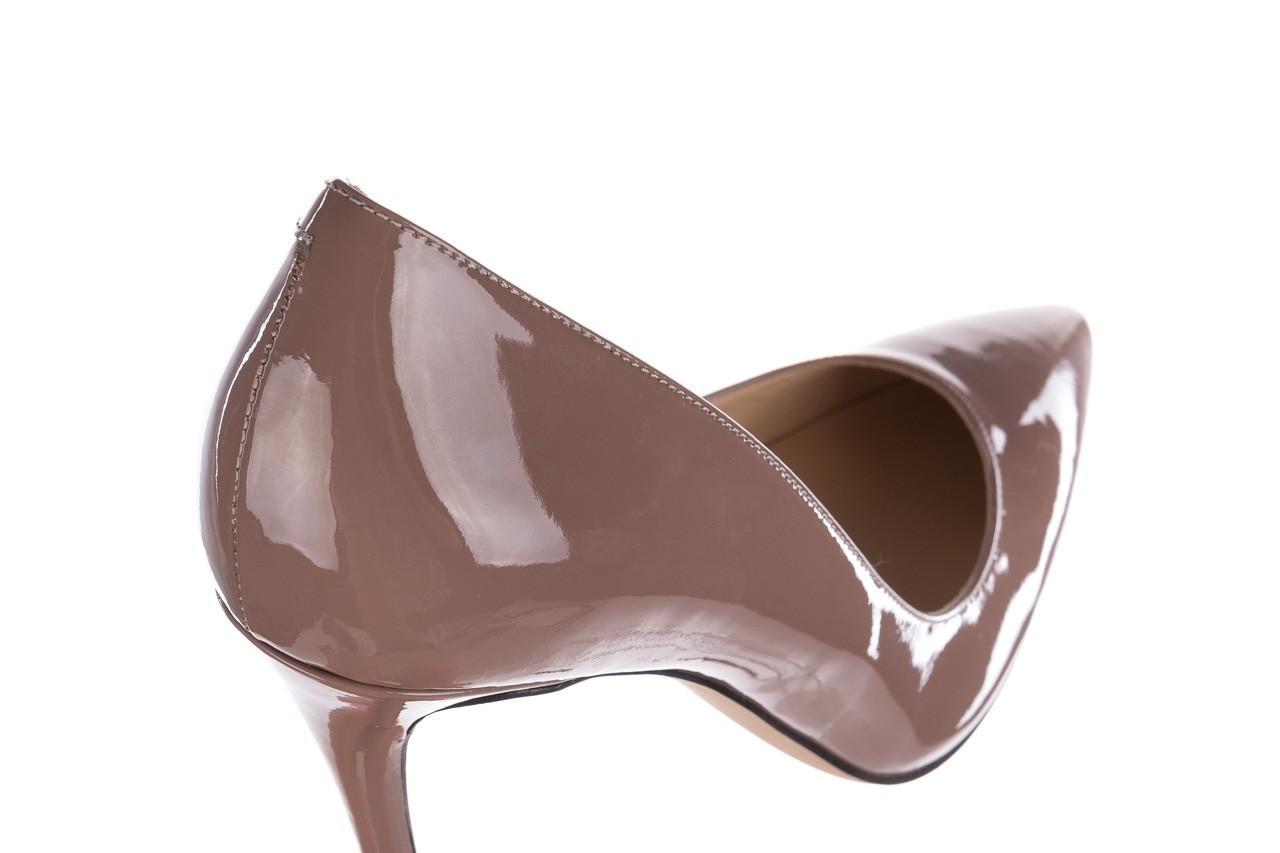 Szpilki bayla-182 2149 latte lakier, skóra naturalna lakierowana  - do szpica - szpilki - buty damskie - kobieta 11