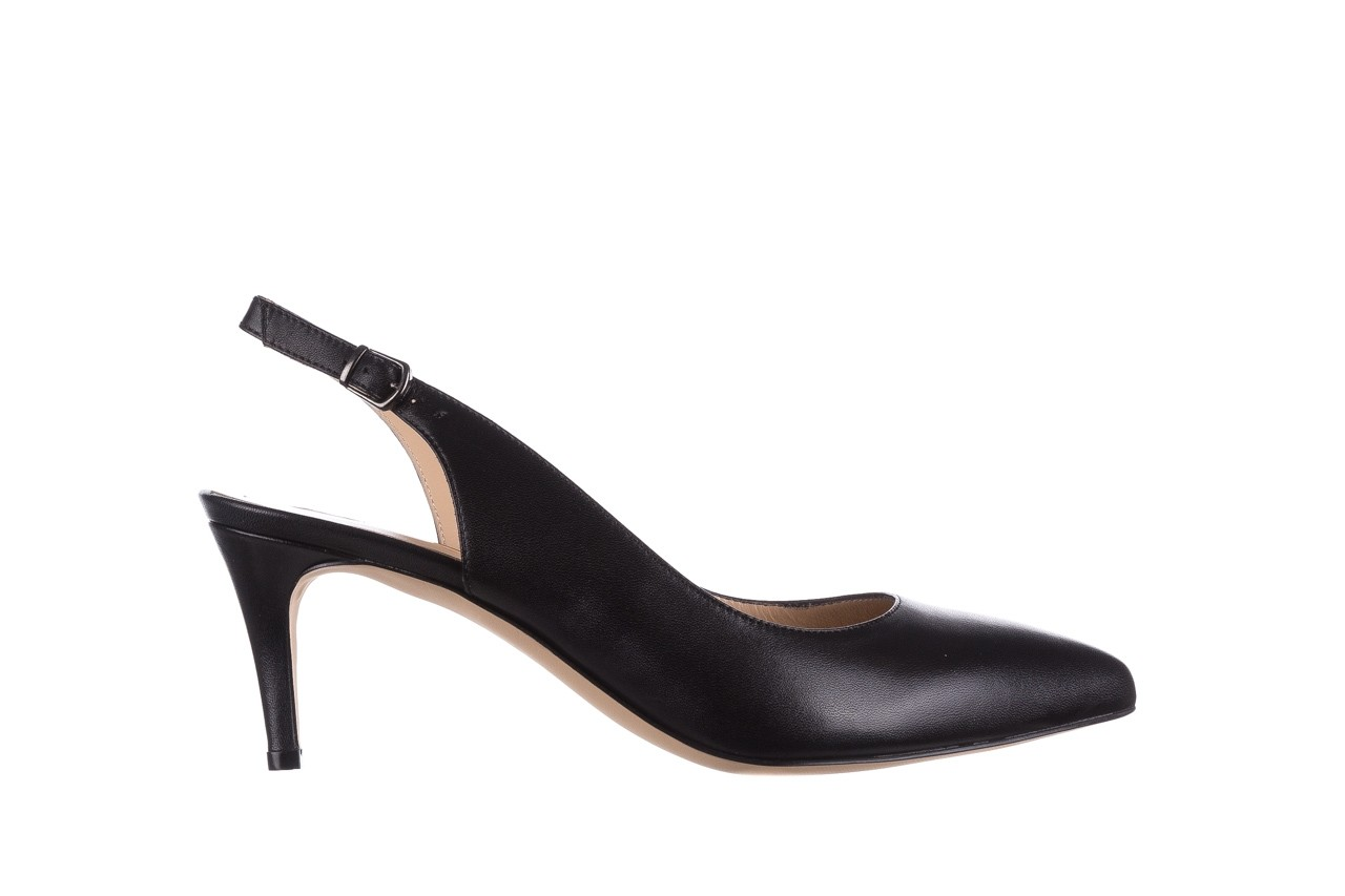 Sandały bayla-182 18014 czarne lico, skóra naturalna  - skórzane - szpilki - buty damskie - kobieta 6