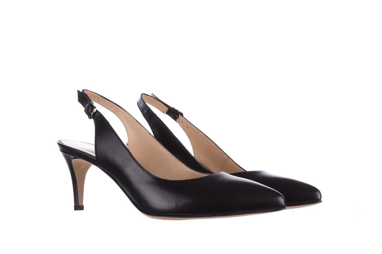Sandały bayla-182 18014 czarne lico, skóra naturalna  - skórzane - szpilki - buty damskie - kobieta 7